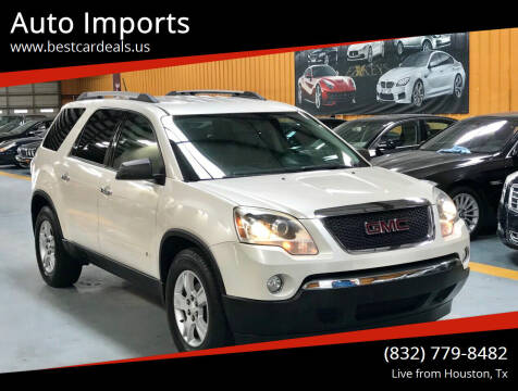 2010 GMC Acadia for sale at Auto Imports in Houston TX