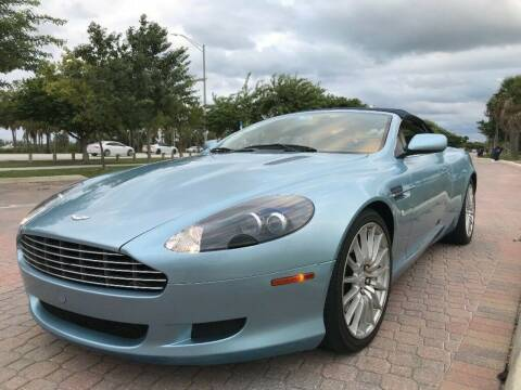2006 Aston Martin DB9 for sale at NJ Enterprises in Indianapolis IN