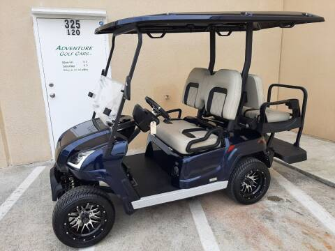 2021 Star EV Sirius 2+2 for sale at ADVENTURE GOLF CARS in Southlake TX