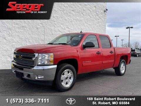 2013 Chevrolet Silverado 1500 for sale at SEEGER TOYOTA OF ST ROBERT in St Robert MO