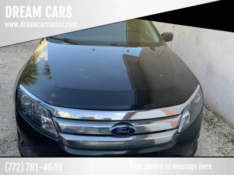 2011 Ford Fusion for sale at DREAM CARS in Stuart FL