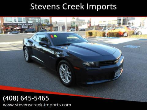 2014 Chevrolet Camaro for sale at Stevens Creek Imports in San Jose CA