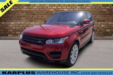 2016 Land Rover Range Rover Sport for sale at Karplus Warehouse in Pacoima CA