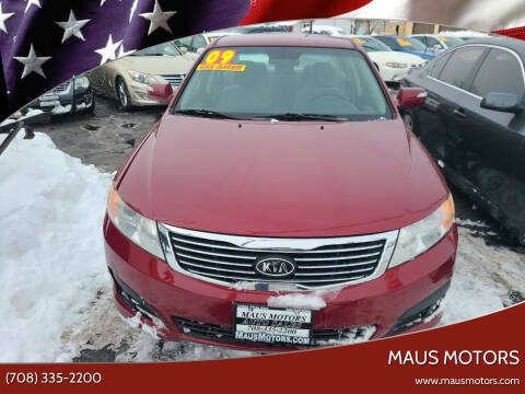 2009 Kia Optima for sale at MAUS MOTORS in Hazel Crest IL