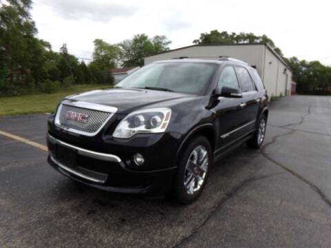 2012 GMC Acadia for sale at Rose Auto Sales & Motorsports Inc in McHenry IL
