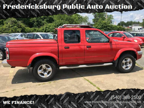2000 Nissan Frontier for sale at FPAA in Fredericksburg VA