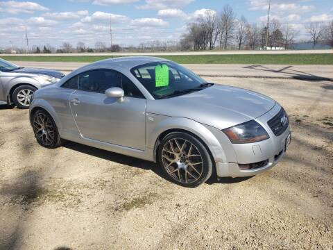 2001 Audi TT for sale at Northwoods Auto & Truck Sales in Machesney Park IL