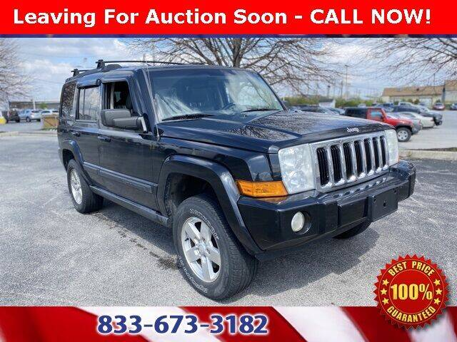 2007 Jeep Commander for sale at Glenbrook Dodge Chrysler Jeep Ram and Fiat in Fort Wayne IN