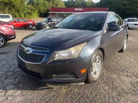 2014 Chevrolet Cruze for sale at Certified Motors LLC in Mableton GA