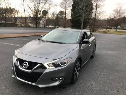 2018 Nissan Maxima for sale at SMZ Auto Import in Roswell GA