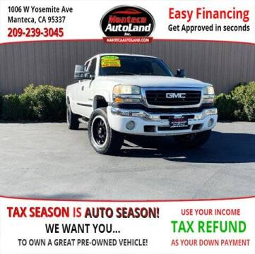2004 GMC Sierra 2500HD for sale at Manteca Auto Land in Manteca CA