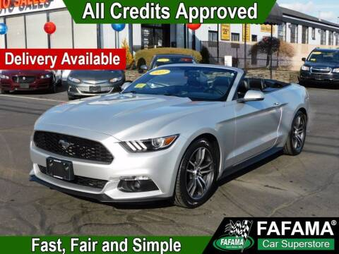 2017 Ford Mustang for sale at FAFAMA AUTO SALES Inc in Milford MA