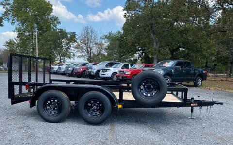 """2021 HD 77""""x12' Utility Trailer for sale at TINKER MOTOR COMPANY in Indianola OK"""
