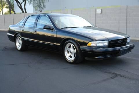 1996 Chevrolet Impala for sale at Arizona Classic Car Sales in Phoenix AZ