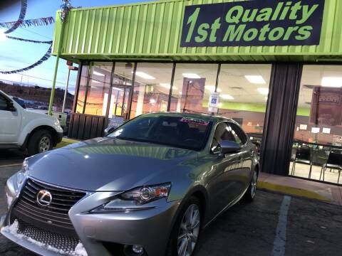 2016 Lexus IS 200t for sale at 1st Quality Motors LLC in Gallup NM