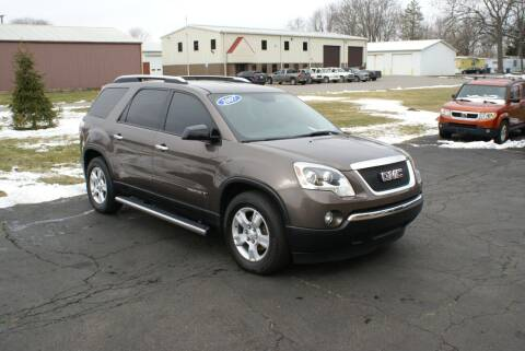 2007 GMC Acadia for sale at MARK CRIST MOTORSPORTS in Angola IN