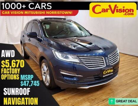 2017 Lincoln MKC for sale at Car Vision Buying Center in Norristown PA