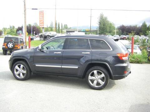 2013 Jeep Grand Cherokee for sale at NORTHWEST AUTO SALES LLC in Anchorage AK