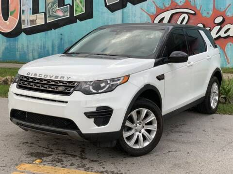 2016 Land Rover Discovery Sport for sale at Palermo Motors in Hollywood FL