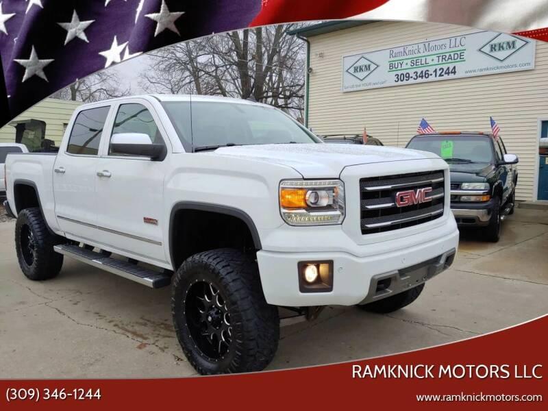 2014 GMC Sierra 1500 for sale at RamKnick Motors LLC in Pekin IL