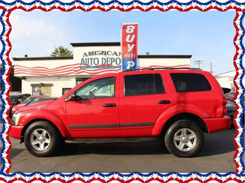 2006 Dodge Durango for sale at American Auto Depot in Modesto CA