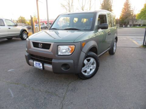 2004 Honda Element for sale at KAS Auto Sales in Sacramento CA