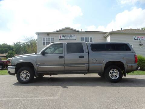 2006 Chevrolet Silverado 1500HD for sale at SOUTHERN SELECT AUTO SALES in Medina OH