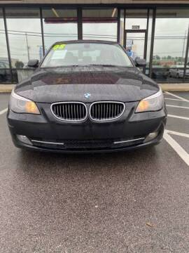 2008 BMW 5 Series for sale at Greenville Motor Company in Greenville NC