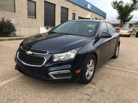 2016 Chevrolet Cruze Limited for sale at BJ International Auto LLC in Dallas TX