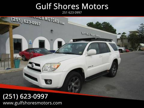 2007 Toyota 4Runner for sale at Gulf Shores Motors in Gulf Shores AL