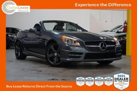2016 Mercedes-Benz SLK for sale at Dallas Auto Finance in Dallas TX