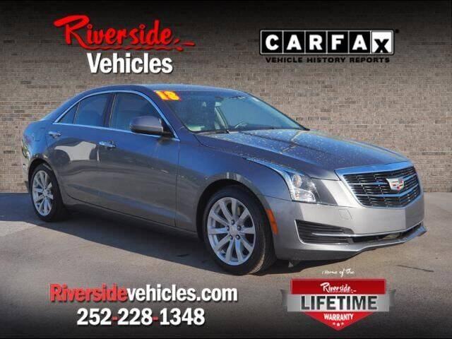 2018 Cadillac ATS for sale at Riverside Mitsubishi(New Bern Auto Mart) in New Bern NC