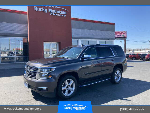 2015 Chevrolet Tahoe for sale at Rocky Mountain Motors in Idaho Falls ID