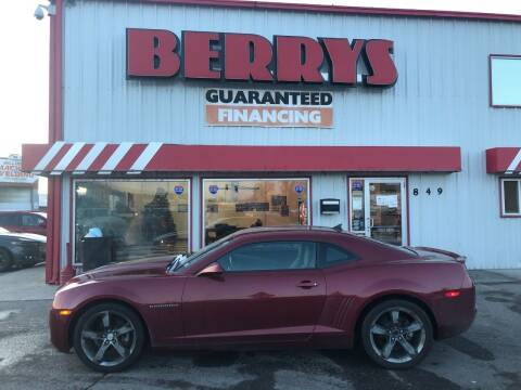 2011 Chevrolet Camaro for sale at Berry's Cherries Auto in Billings MT