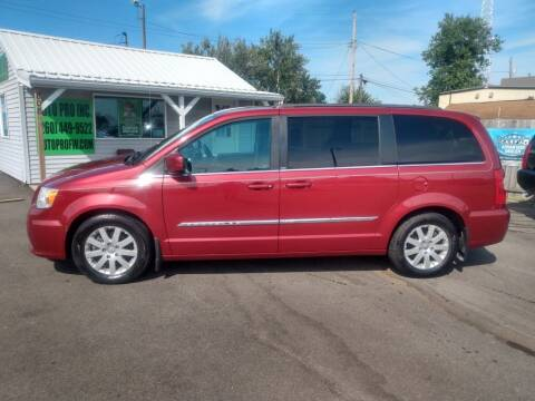 2014 Chrysler Town and Country for sale at Auto Pro Inc in Fort Wayne IN