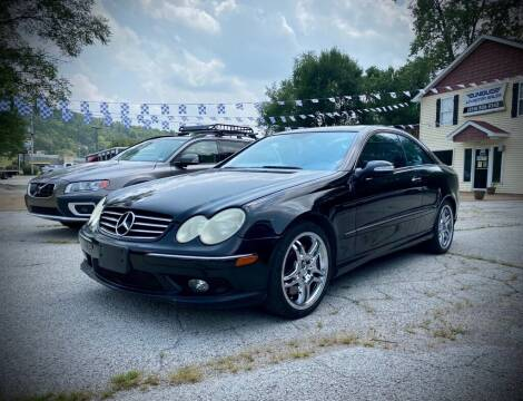 2005 Mercedes-Benz CLK for sale at Unique LA Motor Sales LLC in Byrnes Mill MO
