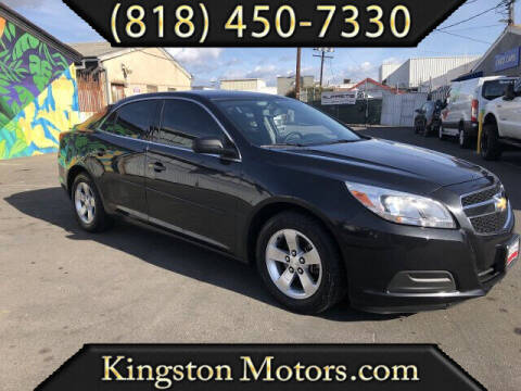 2013 Chevrolet Malibu for sale at Kingston Motors in North Hollywood CA