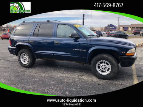 2000 Dodge Durango for sale at Auto Liquidation in Republic MO