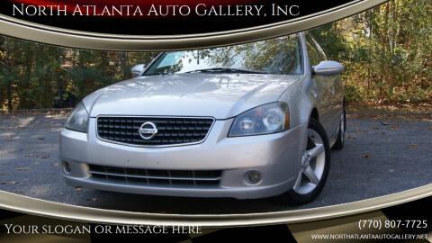 2005 Nissan Altima for sale at North Atlanta Auto Gallery, Inc in Alpharetta GA