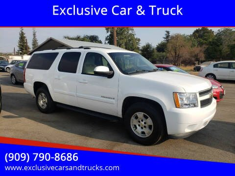 2007 Chevrolet Suburban for sale at Exclusive Car & Truck in Yucaipa CA