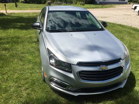 2016 Chevrolet Cruze Limited for sale at Beechwood Motors in Somerville OH