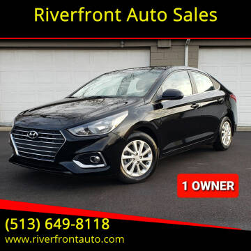2020 Hyundai Accent for sale at Riverfront Auto Sales in Middletown OH