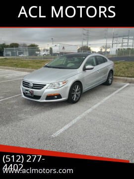 2009 Volkswagen CC for sale at ACL MOTORS in Austin TX