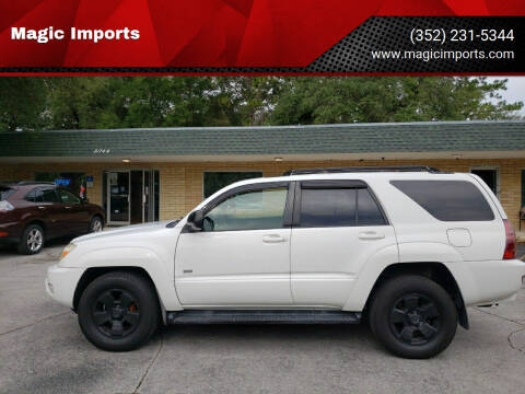 2004 Toyota 4Runner for sale at Magic Imports in Melrose FL