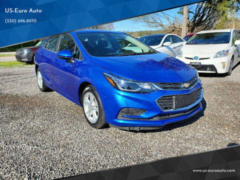 2018 Chevrolet Cruze for sale at US-Euro Auto in Burton OH