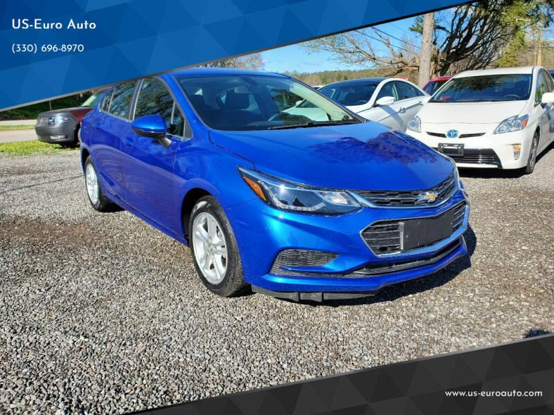 2018 Chevrolet Cruze for sale at US-Euro Auto in Burton OH