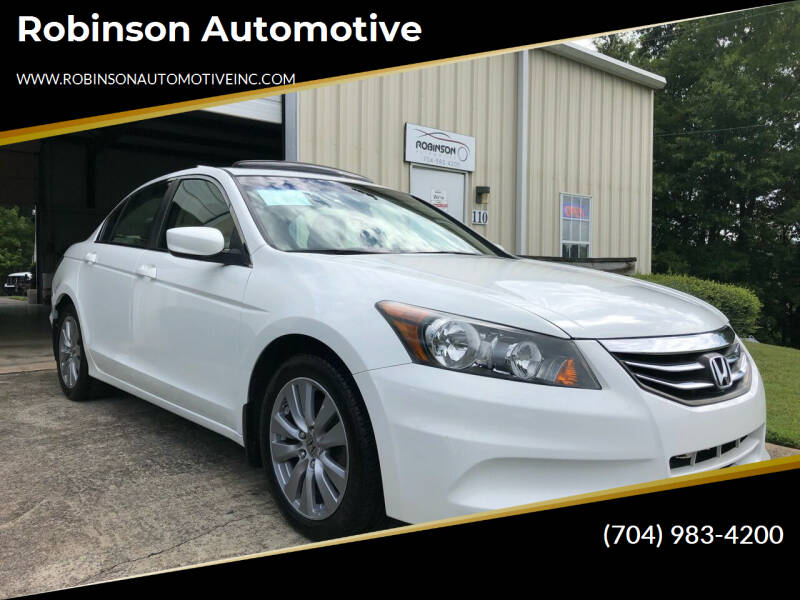 2012 Honda Accord for sale at Robinson Automotive in Albermarle NC