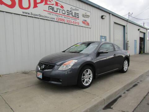 2008 Nissan Altima for sale at SUPER AUTO SALES STOCKTON in Stockton CA