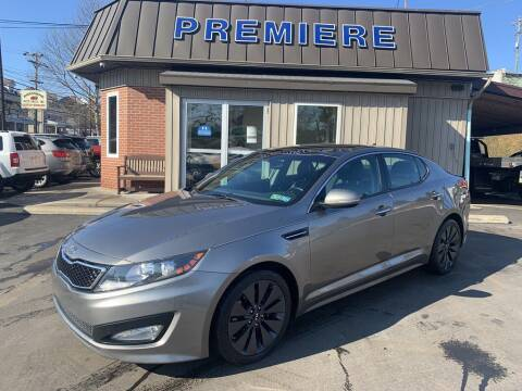 2012 Kia Optima for sale at Premiere Auto Sales in Washington PA