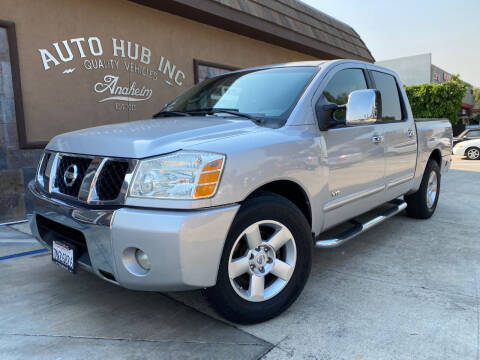 2004 Nissan Titan for sale at Auto Hub, Inc. in Anaheim CA